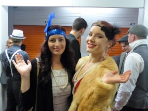 Students enjoy themselves at the Generation Liberty underground prohibition party.