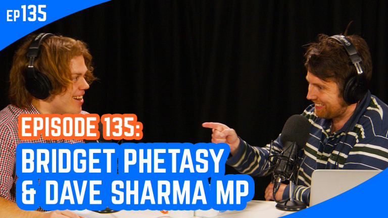 The Young IPA Podcast Episode 135: Bridget Phetasy & Dave Sharma MP
